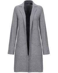 Vero Moda Overcoat - Gray