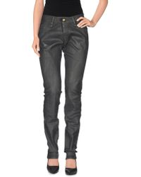 Plein Sud - Denim Trousers - Lyst