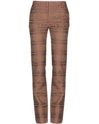 Class Roberto Cavalli Casual Trousers - Brown