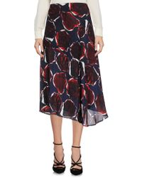 PS by Paul Smith - 3/4 Length Skirt - Lyst