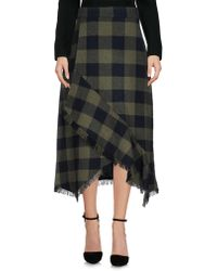 MAX&Co. - 3/4 Length Skirts - Lyst