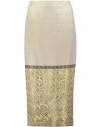 Jenny Packham - 3/4 Length Skirts - Lyst