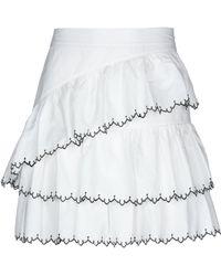 d9a67309596e Lyst - Ulla Johnson Denim Skirt in Blue