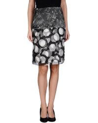 Rue du Mail - Knee Length Skirts - Lyst