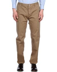 Burberry - Casual Trousers - Lyst