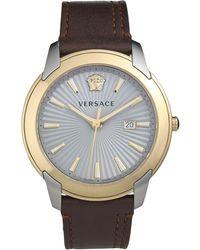 Versace Montre de poignet - Marron