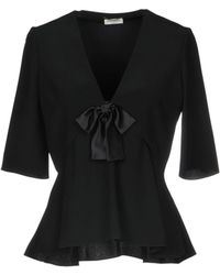 Saint Laurent - Blouse - Lyst