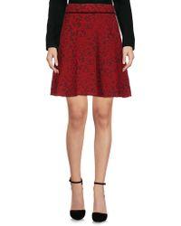 Plein Sud - Knee Length Skirt - Lyst