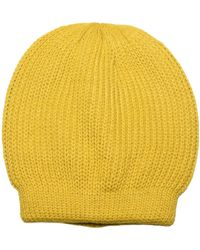 Free People Hat - Yellow