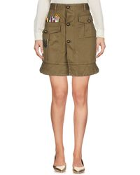 DSquared² - Mini Skirt - Lyst