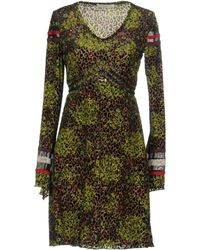 Sonia Fortuna - Short Dress - Lyst
