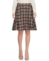 L'Autre Chose - Knee Length Skirt - Lyst
