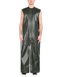 DRKSHDW by Rick Owens - Salopette pantaloni lunghi - Lyst
