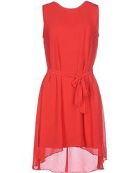 Paprika - Short Dress - Lyst