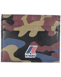 K-Way - Document Holders - Lyst