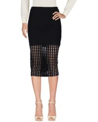 T By Alexander Wang - 3/4 Length Skirts - Lyst