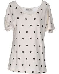 Wildfox - T-shirt - Lyst