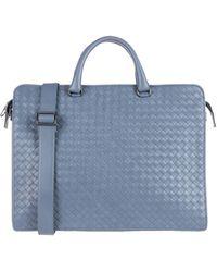 Bottega Veneta Work Bags - Blue