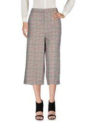 Souvenir Clubbing - 3/4-length Trousers - Lyst