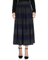 Department 5 - 3/4 Length Skirt - Lyst