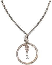 Roberto Cavalli Necklace - Metallic