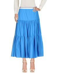 Twin Set - 3/4 Length Skirt - Lyst