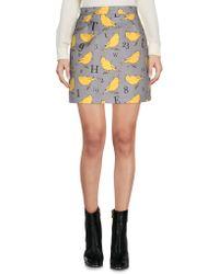Au Jour Le Jour - Mini Skirt - Lyst