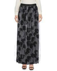 Les Copains - Long Skirt - Lyst