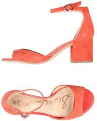 Sam Edelman - Susie D'orsay Ankle Strap Sandal - Lyst