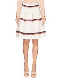 Relish - Knee Length Skirts - Lyst