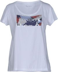 Pepe Jeans - T-shirts - Lyst