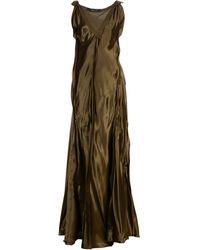 Lanvin - Long Dress - Lyst