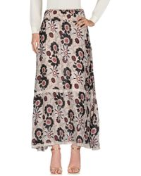 CafeNoir - Long Skirt - Lyst
