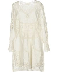 Chloé - Short Dress - Lyst