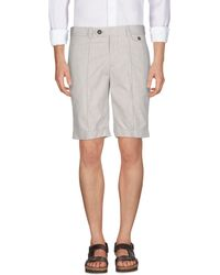 Brunello Cucinelli - Bermuda Shorts - Lyst