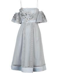 Forever Unique - Knee-length Dress - Lyst