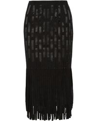 Tamara Mellon - 3/4 Length Skirt - Lyst