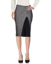 Manila Grace - Knee Length Skirt - Lyst
