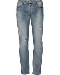 Officina 36 - Denim Pants - Lyst
