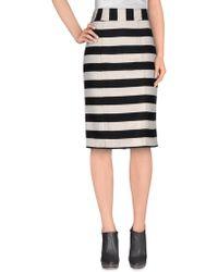 Annie P - Knee Length Skirt - Lyst