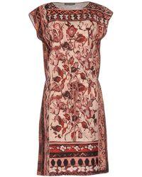 Alberta Ferretti - Knee-length Dresses - Lyst
