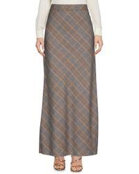 Jucca - Long Skirt - Lyst