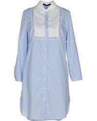 Blue Les Copains | Short Dress | Lyst