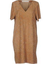 DROMe - Short Dress - Lyst