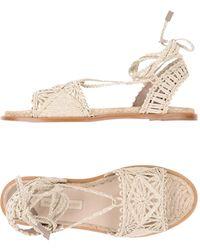 Paloma Barceló - Cruis Flat Sandals - Lyst