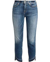 360891dd8153 Lyst - Damen 7 For All Mankind Jeans mit Gerader Passform ab 38 €
