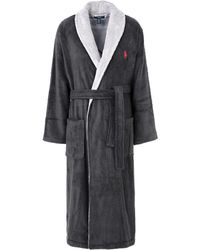 Polo Ralph Lauren - Towelling Dressing Gown - Lyst