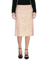 Paul Smith - Knee Length Skirts - Lyst
