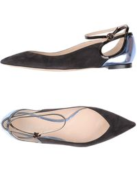 Nina Ricci Snakeskin Embellished Flats outlet in China l24viAuG
