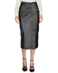 Malloni - 3/4 Length Skirts - Lyst